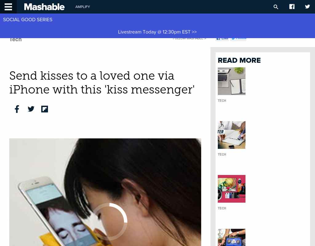 send a kiss via text